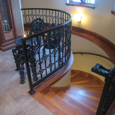 Traditional Staircase by Gravitas, Inc.