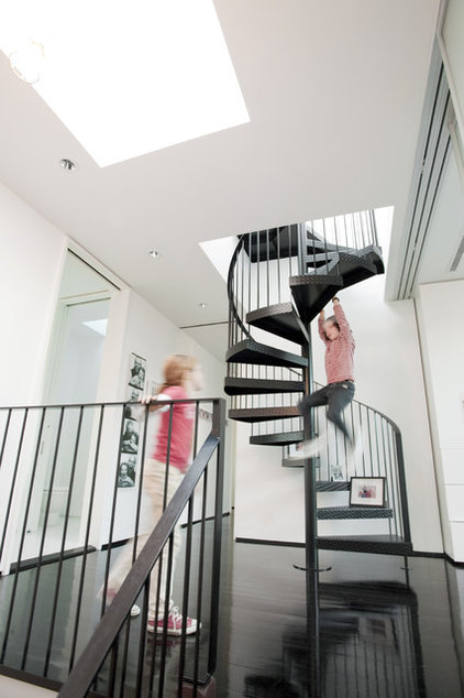 modern staircase by Stern McCafferty