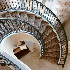 Traditional Staircase by Traci Connell Interiors