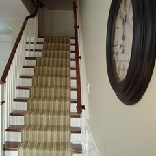 Traditional Staircase by Seaside Interiors