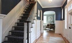 Classic Coastal Colonial Foyer
