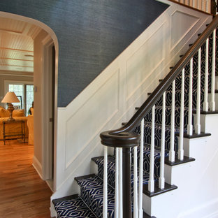 Staircase - traditional staircase idea in Newark