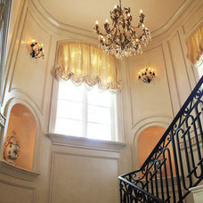 Traditional Staircase by Gary Nance Design