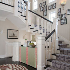 Traditional Staircase by Nest Architectural Design, Inc.