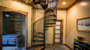 Classic Steel Spiral Staircase