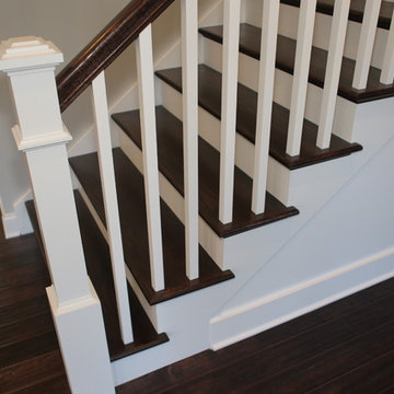 Classic Straight Run  Staircase