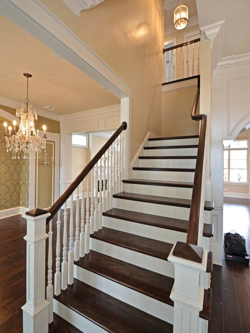 Traditional New Orleans Staircase Design Ideas Pictures