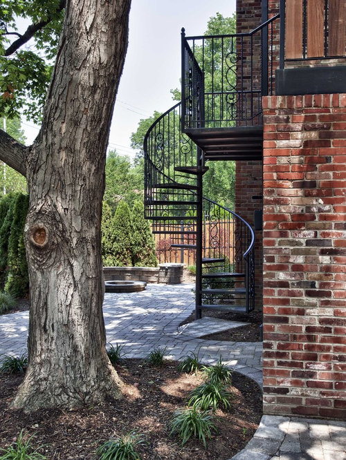 Exterior Spiral Stairs Home Design Ideas Pictures