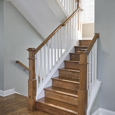 Traditional Staircase by Sicora Design/Build