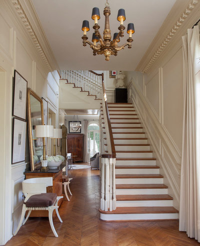 American Traditional Staircase By TY LARKINS INTERIORS