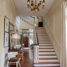 Traditional Staircase by TY LARKINS INTERIORS