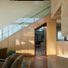 Contemporary Staircase by Stonecreek Building Company, Inc.