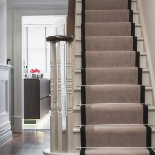 Example Of A Classic U Shaped Staircase Design In Berkshire
