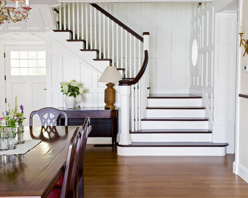 Flare staircase design ideas, remodels & photos