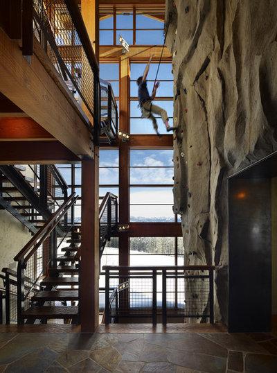 Industriel Escalier by Krannitz Kent Architects