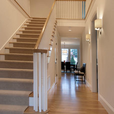 Traditional Staircase by Lakeville Homes