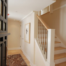 Traditional Staircase by Bernard Design