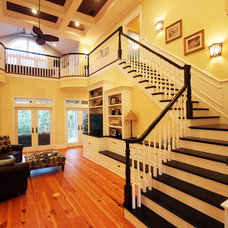 Traditional Staircase by Clausen Residential