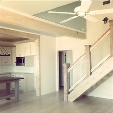 Beach Style Staircase by Anderson Homes
