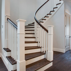 Beach Style Staircase by Lane Design + Build