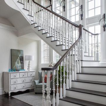 Coastal Shingle–Style Home on St. Andrews Bay
