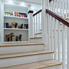 Traditional Staircase by Beres Design Group