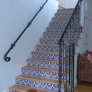 Exemple d'un escalier exotique.