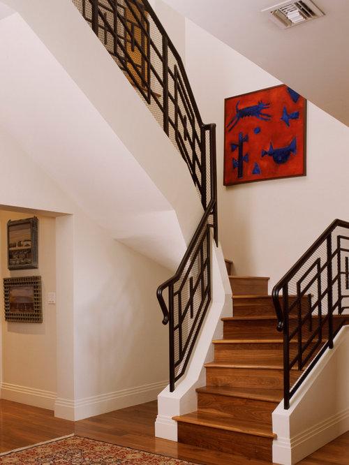 Minimalist Staircase Photo In Miami