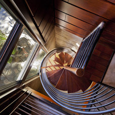Modern Staircase by Uptic Studios