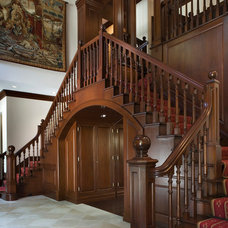 Traditional Staircase by Zivkovic Connolly Architects