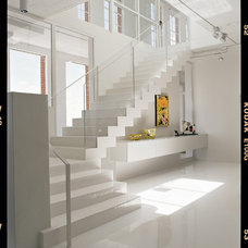 Contemporary Staircase by FAB Architecture
