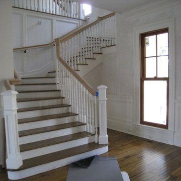 Colonial Home & Barn
