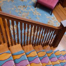 Contemporary Staircase by Jon Andersen Interiors