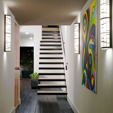 Contemporary Staircase by Lori Dennis, ASID, LEED AP