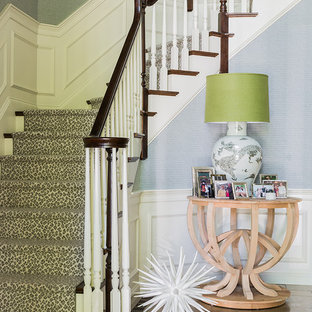 Staircase - eclectic staircase idea in Boston
