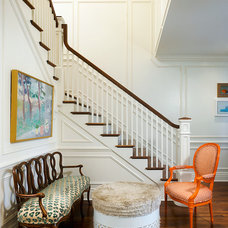 Traditional Staircase by Reynolds Architecture- Northfield, Illinois