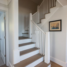 Beach Style Staircase by Cheney Brothers Building & Renovation LLC