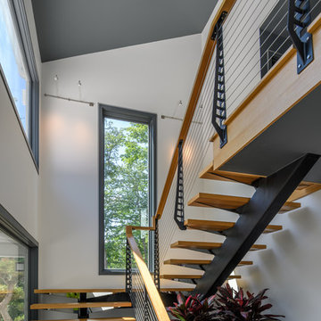 Complete Modern Railing and Stair System