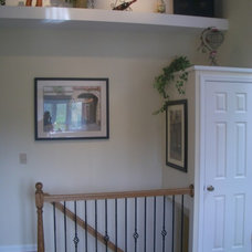 Traditional Staircase by GEOWEN Custom Carpentry, Inc