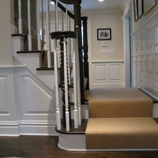 Traditional Staircase by Comstock Residential Contracting, LLC
