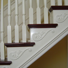 Eclectic Staircase by Stairs And Trim