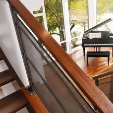 Modern Staircase by Alloy Homes Incorporated