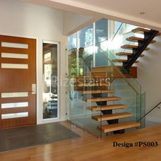 Modern Staircase by Rize Stairs