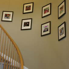 Traditional Staircase by AS Hanging Systems