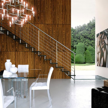 Contemporáneo Escalera