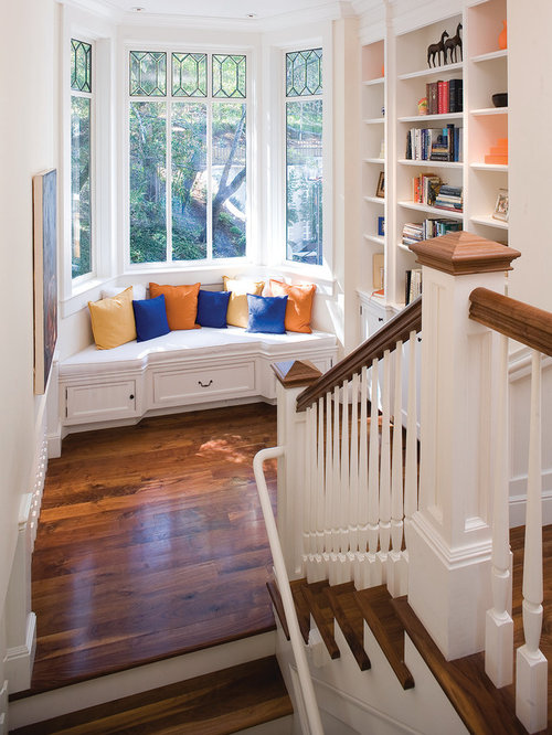 Large Stair Landing Window Home Design Ideas, Renovations
