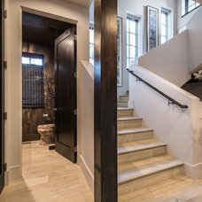 Contemporary Staircase by HighCraft Builders