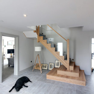 'Contemporary cut' New staircase