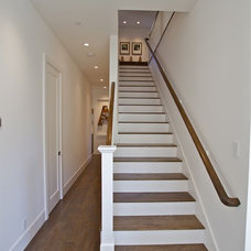 Farmhouse Staircase by KCS, Inc.