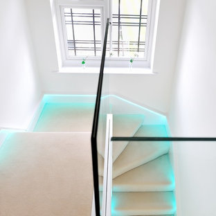 Contemporary Glass Staircases
